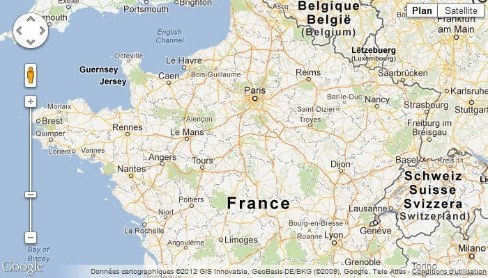Map Of France Google Maps.Creer Une Carte Google Maps Personnalisee Lije Creative